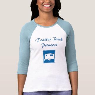 camping_trailer, Trailer Park Princess T-shirts