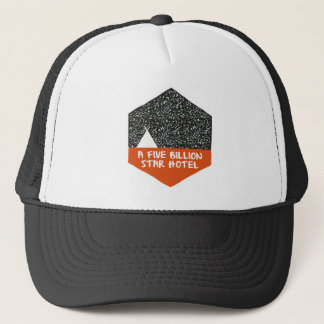 Camping under the stars trucker hat