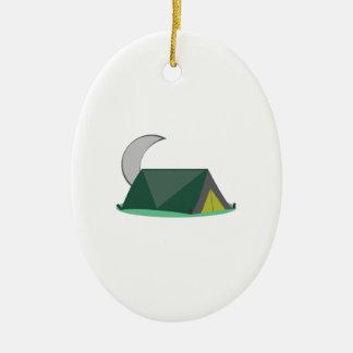 Campping Tent Ceramic Ornament