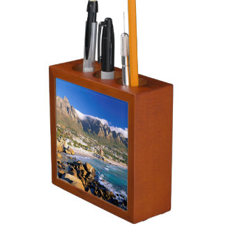 Camps Bay Beach And The Twelve Apostles Range Pencil Holder
