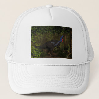 Camptosaurus dinosaur eating - 3D render Trucker Hat