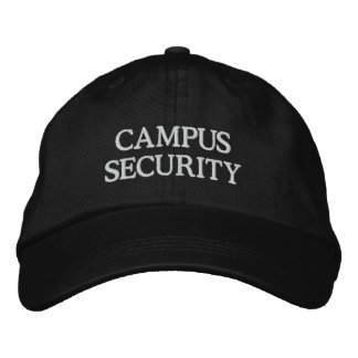 CAMPUS SECURITY EMBROIDERED HAT