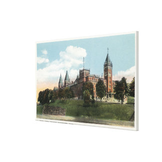 Campus View of Holy Cross College Canvas Print
