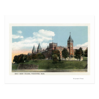 Campus View of Holy Cross College Postcard