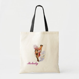 Can-Can tote Budget Tote Bag