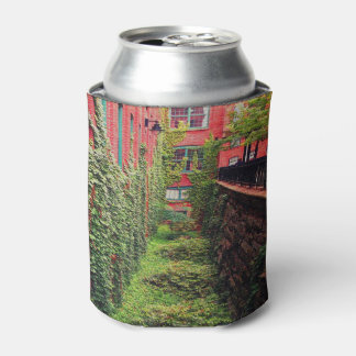 Can Cooler - Brick & Ivy Scene- Full Color