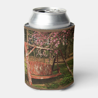 Can Cooler - Country Wooden Swing - Full Color
