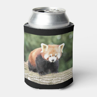 Can Cooler. Photo Red Panda. Can Cooler