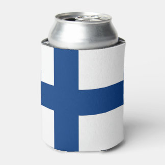 Can Cooler with flag of Finland