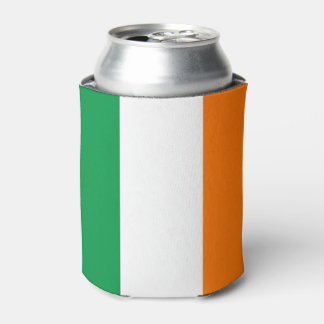 Can Cooler with flag of Ireland