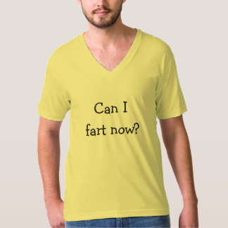 Can I fart now Funny Disgusting Men's T-Shirt