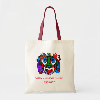 Can I Have Your Heart? Aztec God Tote Bag