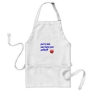 Can I have your number Standard Apron