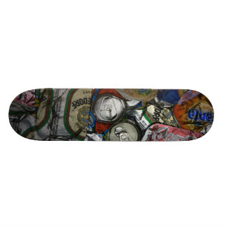 Can recycling custom skateboard