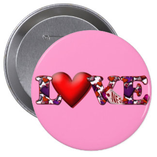Can t Buy Me Love Pinback Buttons