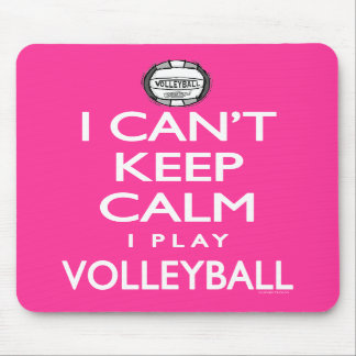 Can t Keep Calm Volleyball Mousepad