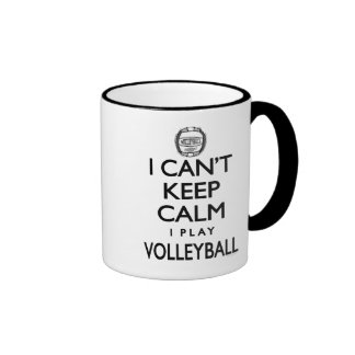 Can t Keep Calm Volleyball Mugs