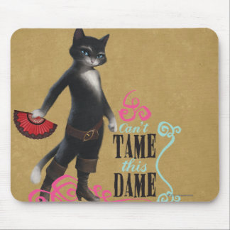 Can t Tame This Dame color Mousepads