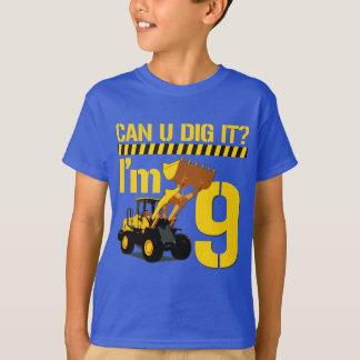 Can U Dig It? I'm 9 T-Shirt