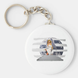 Can We Afford To Not Care? Basic Round Button Key Ring