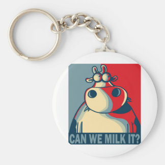 CAN WE MILK IT? BASIC ROUND BUTTON KEY RING