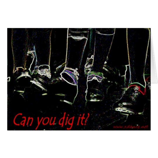 Can You Dig It? Card