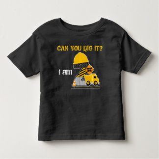 Can you dig it? Construction Birthday Shirt