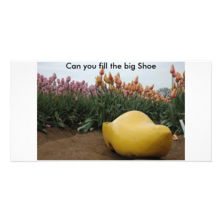 Can you fill the Big Shoe Picture Card