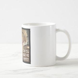 can you hear me now? basic white mug