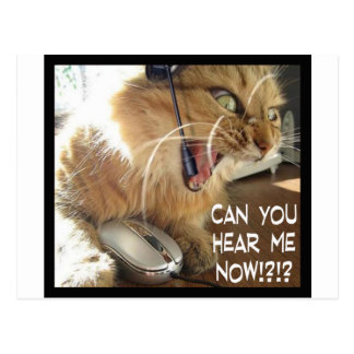 can you hear me now? postcard