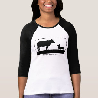 Can You Herd Me Now Ladies Fitted 3/4 T-shirt