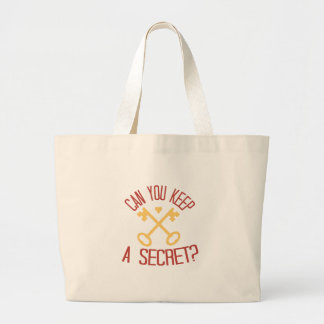Can You Keep A Secret? Jumbo Tote Bag