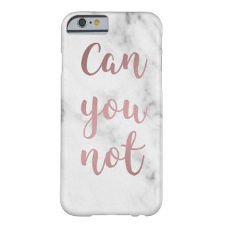 """""""Can You Not"""" iPhone Case"""