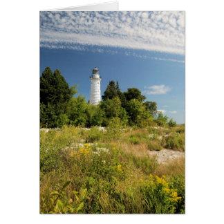 Cana Island Lighthouse Card