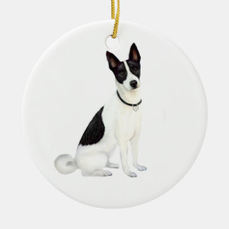 Canaan Dog (A) Ceramic Ornament