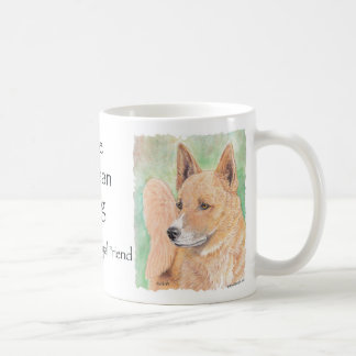 Canaan Dog Coffee Mug