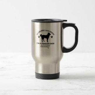 canaan dog Dog Daddy Travel Mug
