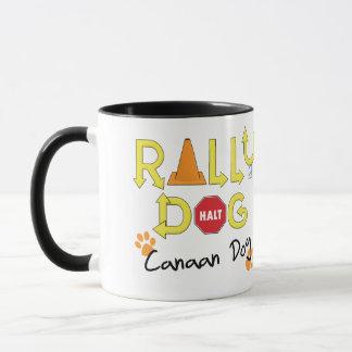 Canaan Dog Rally Dog Mug