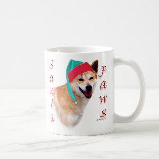 Canaan Dog Santa Paws Coffee Mug