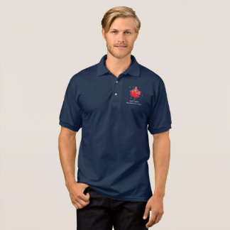 Canada 150 Birthday Celebration Maple Leaf Polo Shirt