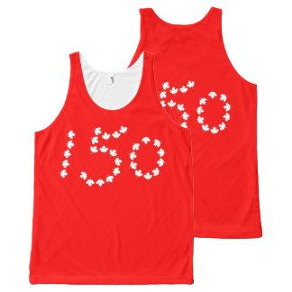 Canada 150 celebration All-Over print singlet