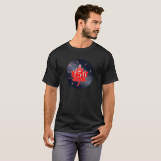 Canada 150 Commemorative Celebration Maple Leaf T-Shirt