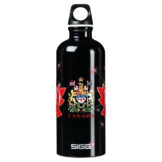 Canada 150 Fireworks Maple Leaf Coat of Arms SIGG Traveller 0.6L Water Bottle