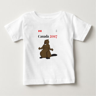 Canada 150 in 2017 Beaver Baby T-Shirt