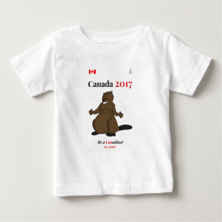 Canada 150 in 2017 Beaver Canadian Baby T-Shirt