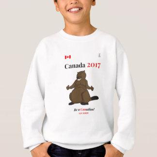 Canada 150 in 2017 Beaver Canadian Sweatshirt
