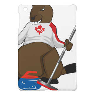 Canada 150 in 2017 Beaver Curling Main Case For The iPad Mini