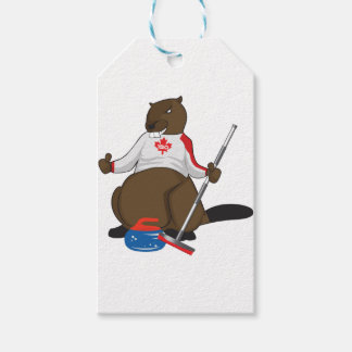 Canada 150 in 2017 Beaver Curling Main Gift Tags