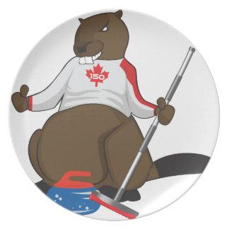 Canada 150 in 2017 Beaver Curling Main Plate
