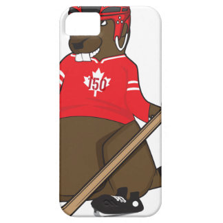 Canada 150 in 2017 Beaver Hockey Barely There iPhone 5 Case